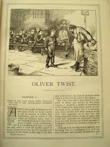 Illustration Dickens Oliver Twist