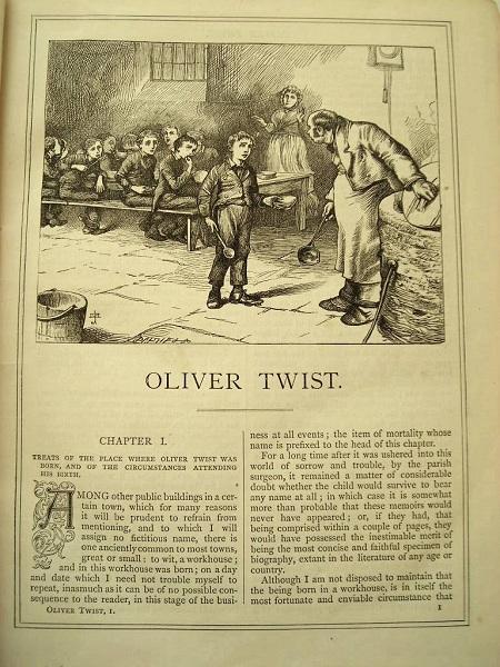 Illustration Dickens Oliver Twist