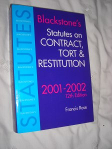 rose_blackstones_statutes_contract_tort_restitution